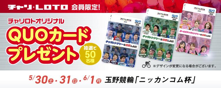 QUOカードが当たる!玉野F2ミッドナイト「ニッカンコム杯」投票キャンペーン