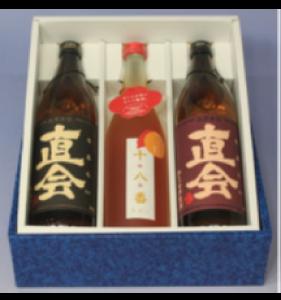 久留米の梅酒・焼酎セット